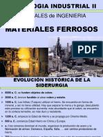 4.1. Materiales Ferrosos