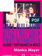 Mónica Mayer - Rosa Chillante, Mujeres y Performance en Mexico (2004)