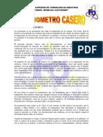 Termometro Casero