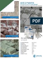 cemento expansivo splitstar