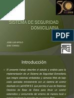Sistema de Seguridad Domiciliaria