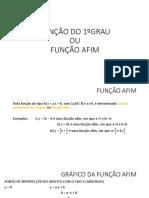1- Função 1ºgrau Cálculo Para Engenharia