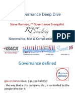 IT Governance Deep Div