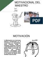 Actitud Motivacional Del Maestro[1]