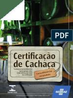 Certificaçao Cachaça Sebrae