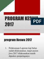 Indikator Program Keswa