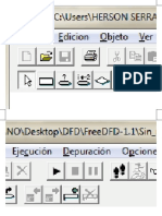 Interfaz de DFD