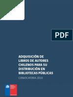Bases Adquisicion Libros 2018
