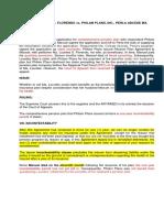 16. Florendo vs Philam Plans