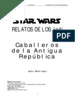 Whitman John - Relatos de Los Jedi