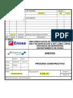 Proceso Constructivo SE Derivación LM