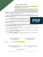 Survivorship Agreement.docx