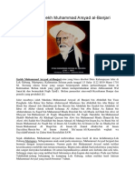 Biografi Syekh Muhammad Arsyad Al