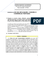 Exercícios de Coesão e Coerência - 05-05-2010