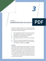 FISICAI 03 Exercicios Resolvidos