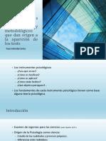 Desarrollo Histórico y Los Fundamentos Teóricos y Metodológicos