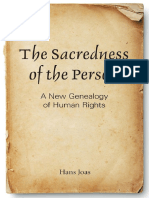 Hans Joas-The Sacredness of the Person_ a New Genealogy of Human Rights-Georgetown University Press (2013)