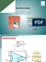 Aplicaciones Lineales y No-lineales Del Amplificador Operacional