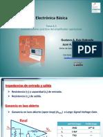 Consideraciones Prácticas Del Amplificador Operacional