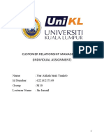 CRM Individual Assignment .doc