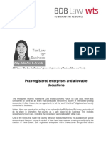 438. Peza-registered enterprises and allowable deductions - JLA 5.29.14.pdf