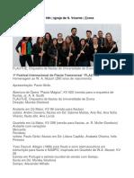 Programa Concerto 22Maio