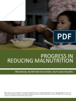 Progress in Reducing Malnutrition the 2015 Quezon Provincial Nutrition Situation, Facts and Figures