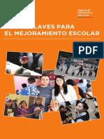 Clave Para El Mejoramiento Escolar_Agencia de Calidad