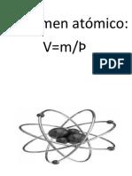 Volumen atómico