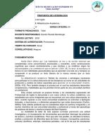 Alfabetización Académica Propuesta Stemberger. 2018