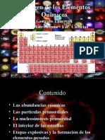 El Origen de Los Elementos Quimicos