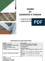 Diseño de Elementos a Tension