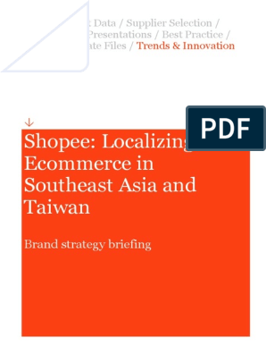 Shopee Localizing Ecommerce In Southeast Asia And Taiwan E Commerce Sales