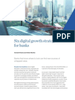Six Digital Growth Strategies for Banking