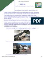 Tráfego e Trânsito de Veículos e Pessoas