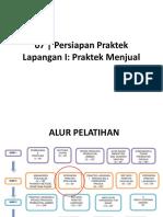 M7 Persiapan Praktek Lapangan I Praktek Menjual