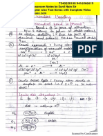 Chemical Bonding Notes BeWIse Classes