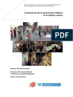 Incorporacion en El Analisis Urbano