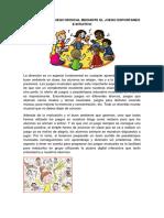 Elementos Del Juego Musical Mediante El Juego Espontaneo e Intuitivo