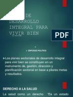 Plan de Desarrollo Integral