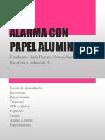 Alarma con Papel Aluminio