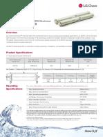 Membrane LG BW 4040R