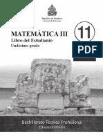 Mat III BTP - Libro Del Estudiante - Completo