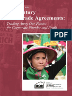 Primer on 21st Century Free Trade Agreements