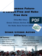 Our Common Future- A Carbon-Free and Nuke-Free Asia