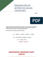 3.2. Determinación de Parámetros de Aguas Residuaes