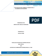 Formulación de Una Negociación Comercial Internacional y Documentación Requerida