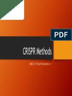 Crispr Methods