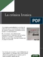La Crónica Ironica