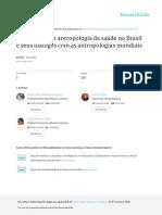 Um Balanco Da Antropologia Da Saude No Brasil e Se